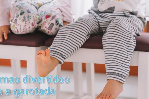 Presentes para crianças – Pijamas divertidos para a garotada